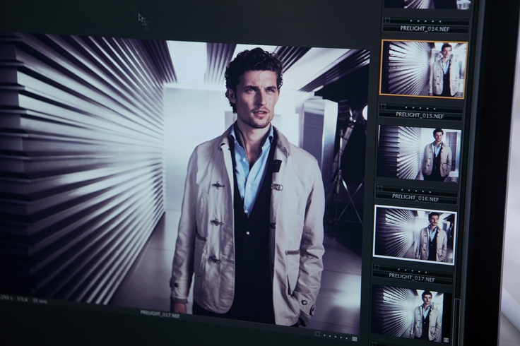 Fay Men's Spring Summer 2013 Campaign backstage