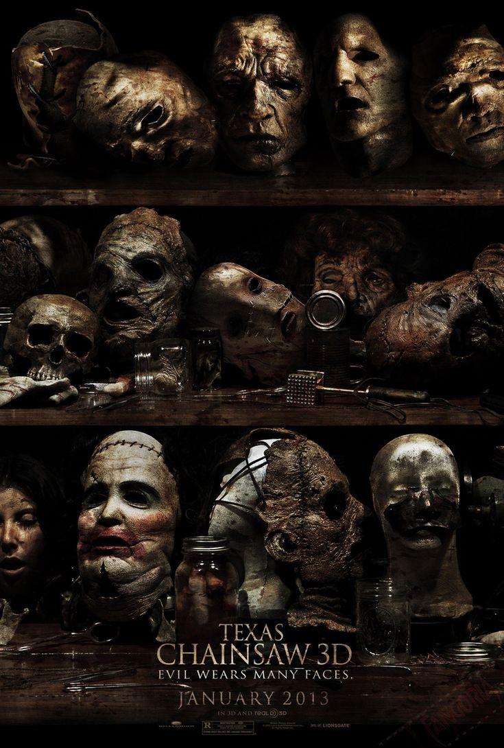 Texas Chainsaw 3Dmovie poster. #film #poster #thetexaschainsawmassacre