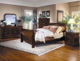 Montreal Bedroom, Sleigh Bed