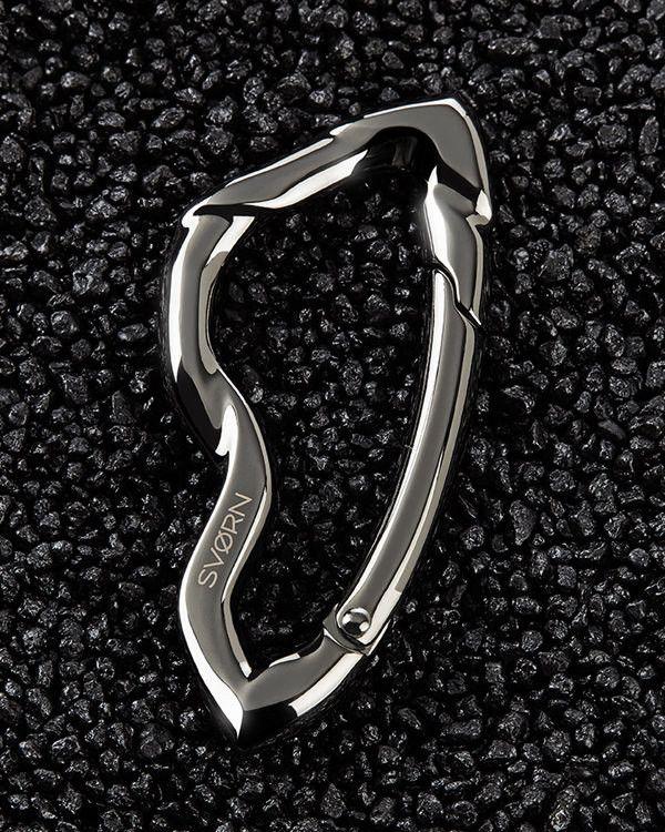 Arcus Carabiner - Chrome Noir