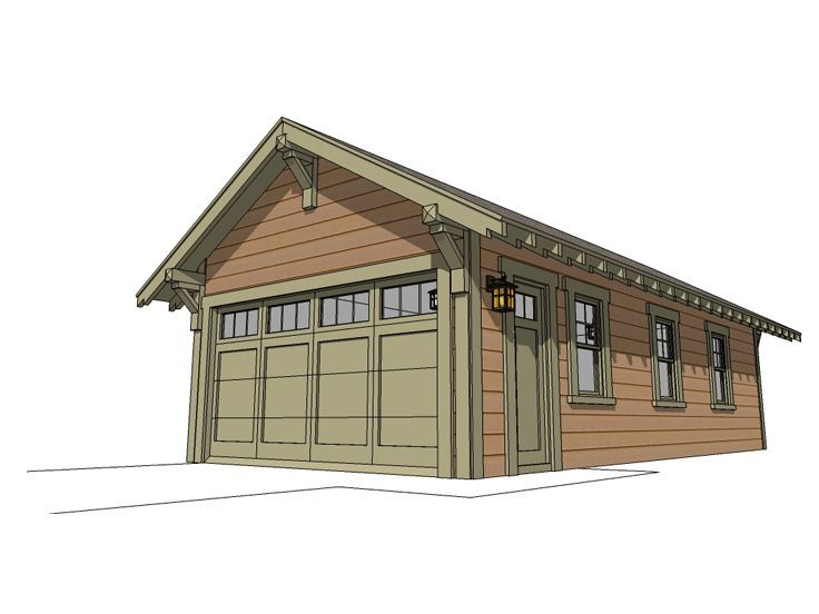 51 best tandem garage plans images on pinterest tandem for Tandem garage house plans