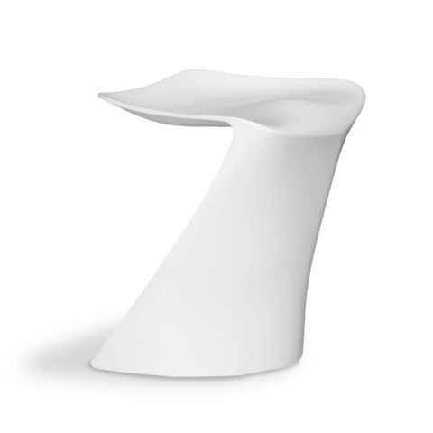 Yucatan Dining Chair - This cool and fluid outdoor Dining Chair will add a mod flair to your outdoor dining experience Made of sturdy fibreglass and available in sexy summer white.