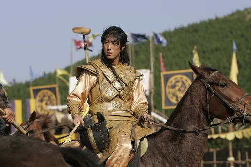 """Yoon Tae Young as Hogae in """"The Legend"""""""