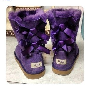 cute purple uggs, I actually love these and want a pair!