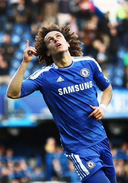 David Luiz - Chelsea 3-0 Bolton. Let's bring all glory to the One who deserves it. :)