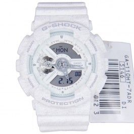 G-Shock Casio Heathered Analog Digital Magnetic Resist Sports Watch GA-110HT-7 GA-110HT-7A