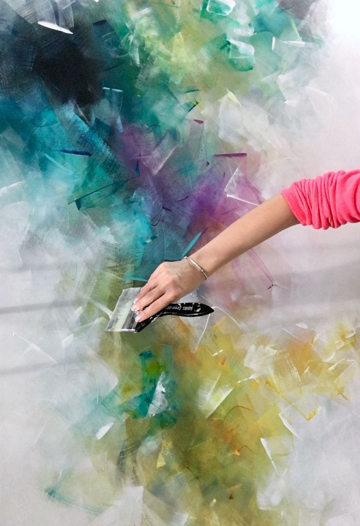 Pin Von Alisa Abbas Auf Kunst In 2020 Acrylmalerei Abstrakt