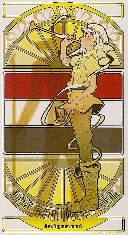 Aph Egypt | Hetalia Tarot Card