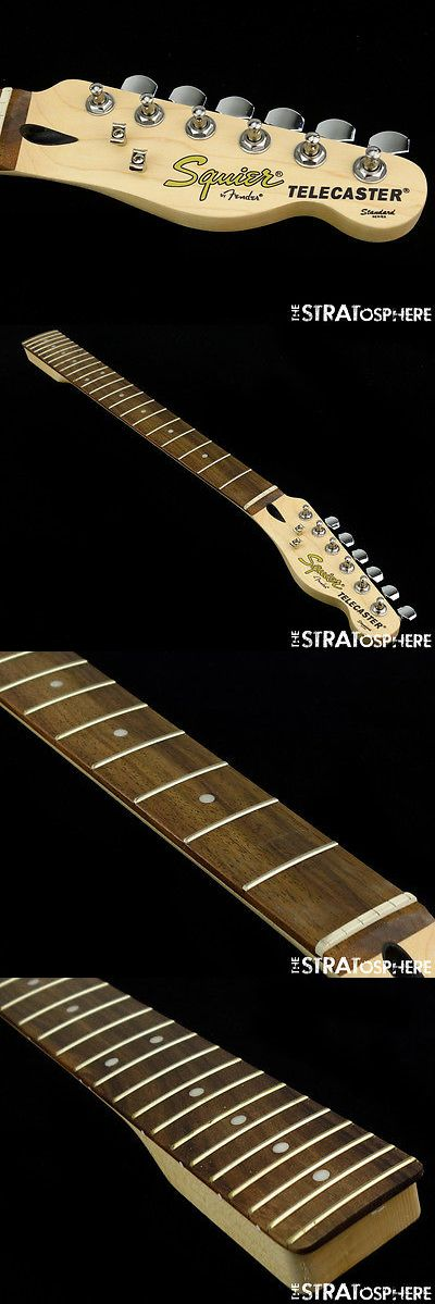 musical instruments: 2017 Fender Squier Standard Telecaster Tele Neck And Tuners 9.5 Radius Rosewood -> BUY IT NOW ONLY: $119.99 on eBay!