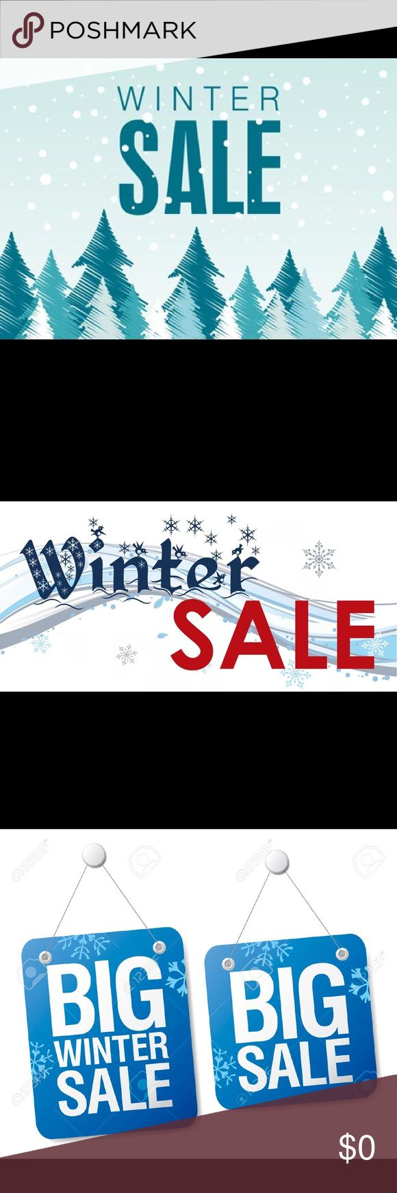 WINTER SALE!!!! MAKE A REASONABLE OFFER!!! ❄️❄️❄️ Winter Sale!!! Make a reasonable offer on winter items marked w/ a snowflake!!! ❄️❄️❄️❄️❄️❄️❄️❄️❄️❄️❄️❄️❄️❄️ Feel free to ask any questions! 🤗🤗🤗🤗🤗🤗🤗🤗 Other