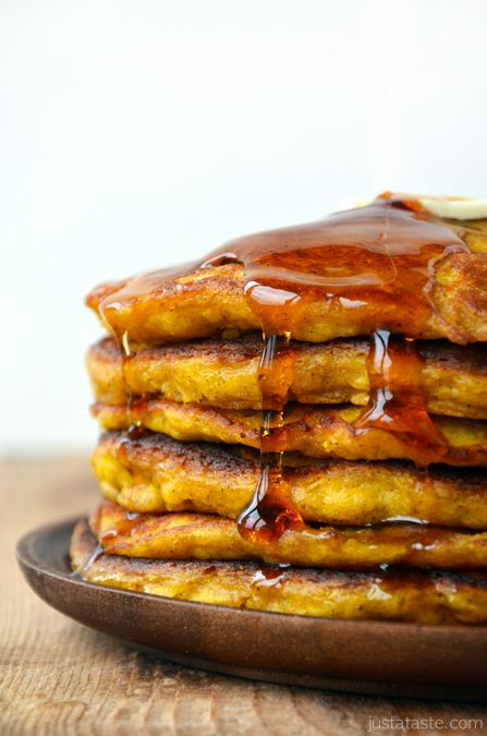 Pumpkin Pie Pancakes | www.justataste.com | #pumpkin #fall #recipe #pancakesFall Pumpkin, Teske Goldsworthy, Pancakes Recipe, Goldsworthy Teske, Pumpkin Pancakes, Breakfast, Autumn Drinks, Pies Pancakes, Pumpkin Pies