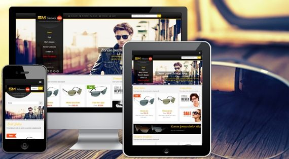 18 best free magento themes free responsive magento for Magento community templates