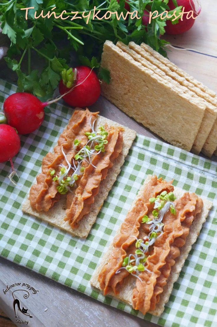 Kulinarne przygody Gatity: Tuńczykowa pasta do kanapek