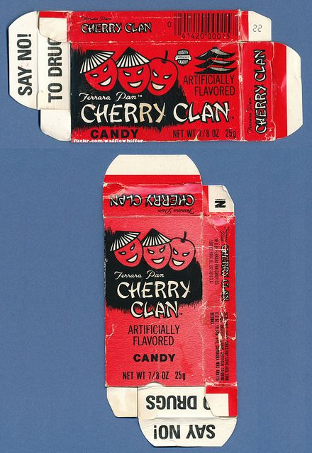 Ferrara Pan - Cherry Clan Candy - 1980s by Waffle Whiffer, via Flickr