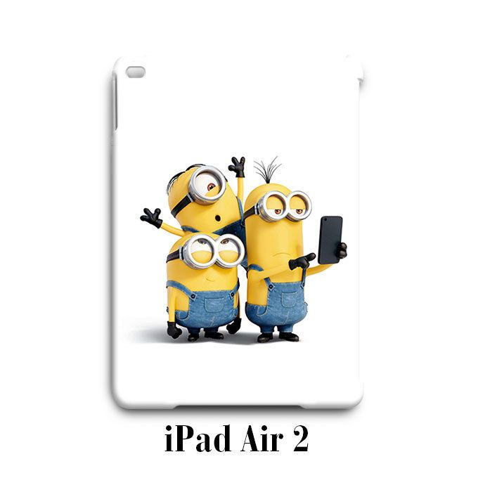 Selfie Despicable Me Minion iPad Air 2 Case Cover Wrap Around
