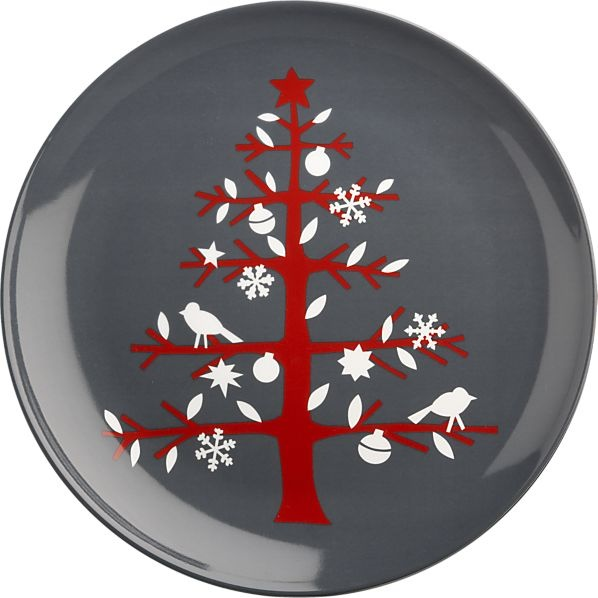 "Tree 13.5"" Platter in Christmas Entertaining 