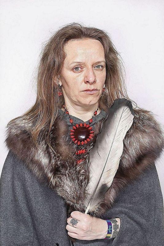"""Katarzyna Majak, """"Bea, ta która słucha lasu"""", projekt """"Kobiety Mocy"""", dzięki uprzejmości artystki i Porter Contemporary Gallery"""