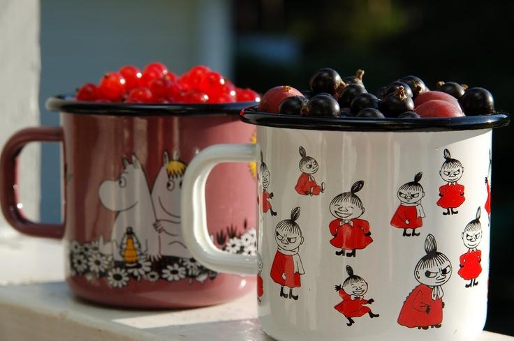 muumimarjat <3 Moomin berries