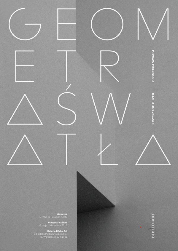 """49. wystawa - """"Geometria światła"""" - Krzysztof Guzek, 12 maja - 10 czerwca 2015 r.  Wielkoformatowe obrazy cyfrowe na pograniczu fotografii i grafiki komputerowej"""