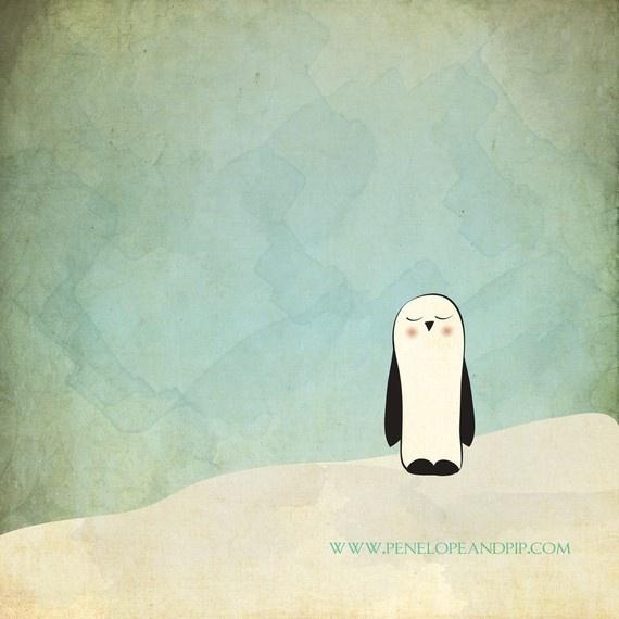 ❄ Penguin Yen ❄   Peaceful Penguin   Penelopeandpip.com