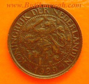 1929 Nederlandse 1 Cent