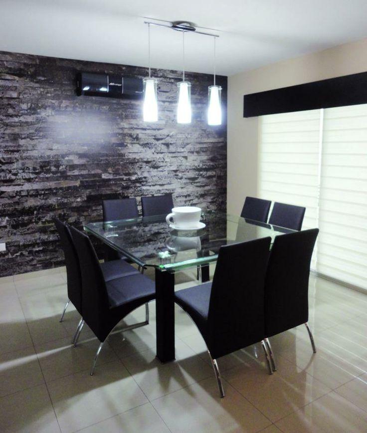 Ideas comedor negro para el hogar pinterest for Tipos de marmol para mesadas