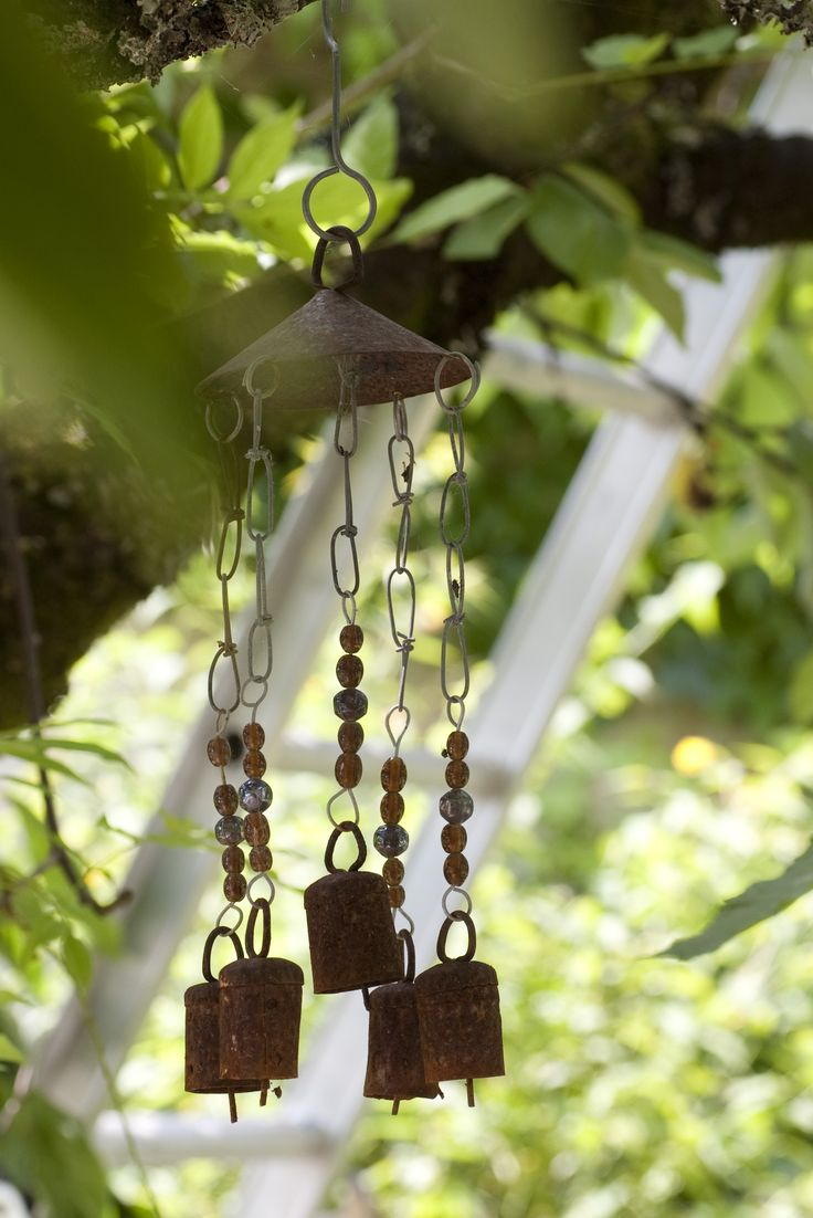 Free stock photo of decoraive wind chimes