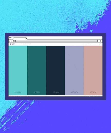 This New Color Generator Site Is Completely Addicting  #refinery29  http://www.refinery29.com/coolors-perfect-color-finder