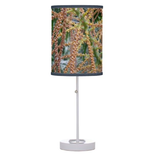 #zazzle #home #office #night #light #gift #giftidea #Green #Red #Plant #Table #Lamp