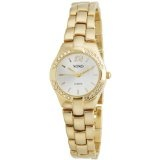 XOXO Women's XO110 Silver Dial Gold-tone Bracelet Watch (Watch)By XOXO