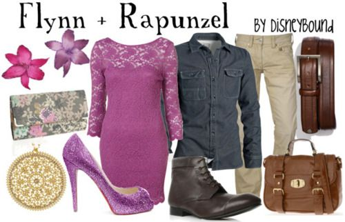 dress like your favorite disney character: Flynn & Rapunzel