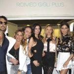 SI SPOSAITALIA: ROMEO GIGLI PLUS FA IL PIENO DI BELLEZZE - BOLLICINE VIP