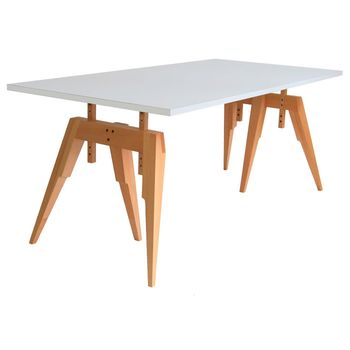 Compass trestle table