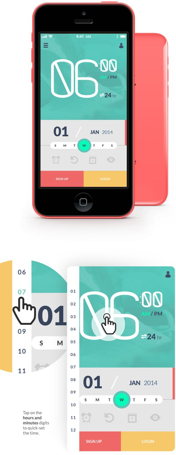 The Buddy Clock on App Design Served