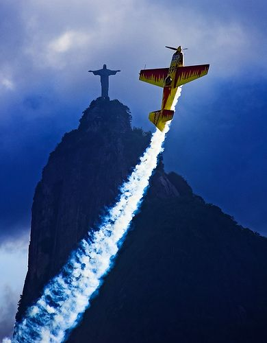 Red Bull Air Race in Rio de Janeiro, Brazil
