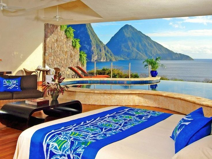 Jade Mountain St. Lucia, Soufriere, St. Lucia #hotel #photography #travel #photographer #coolstuff #graphicdesign #design