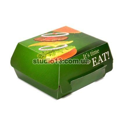 Упаковка для Гамбургера «в сборе»