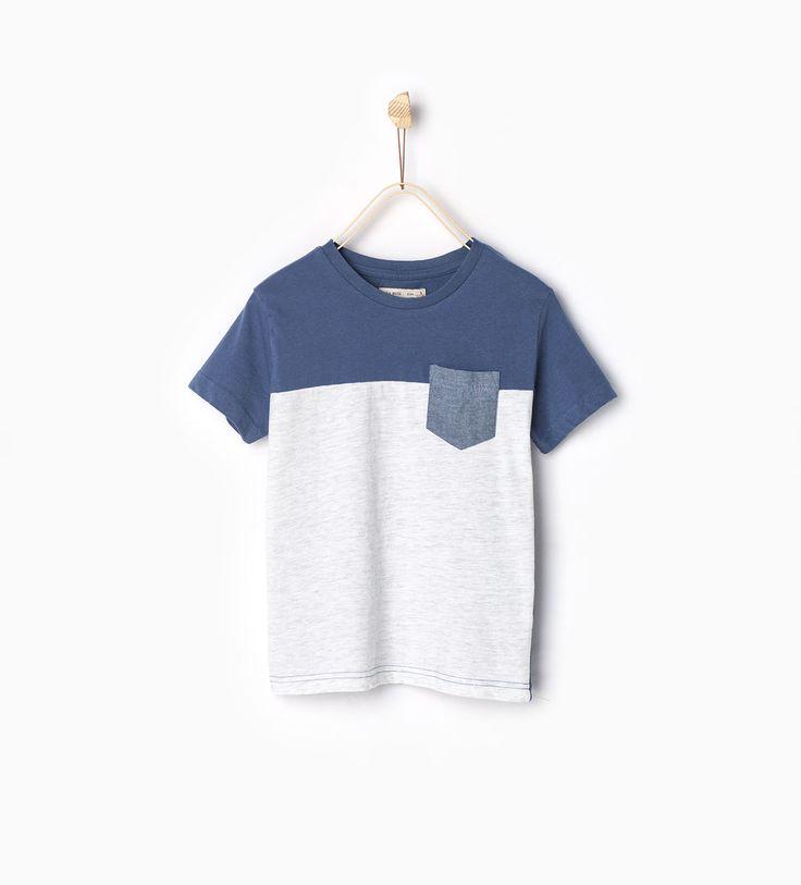 포켓 티셔츠-모두 보기-티셔츠-BOY | 만4세-14세-KIDS | ZARA 대한민국