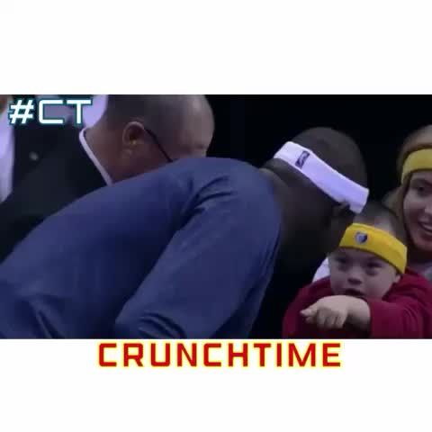 Zach Randolph is so classy!! #crunchtime