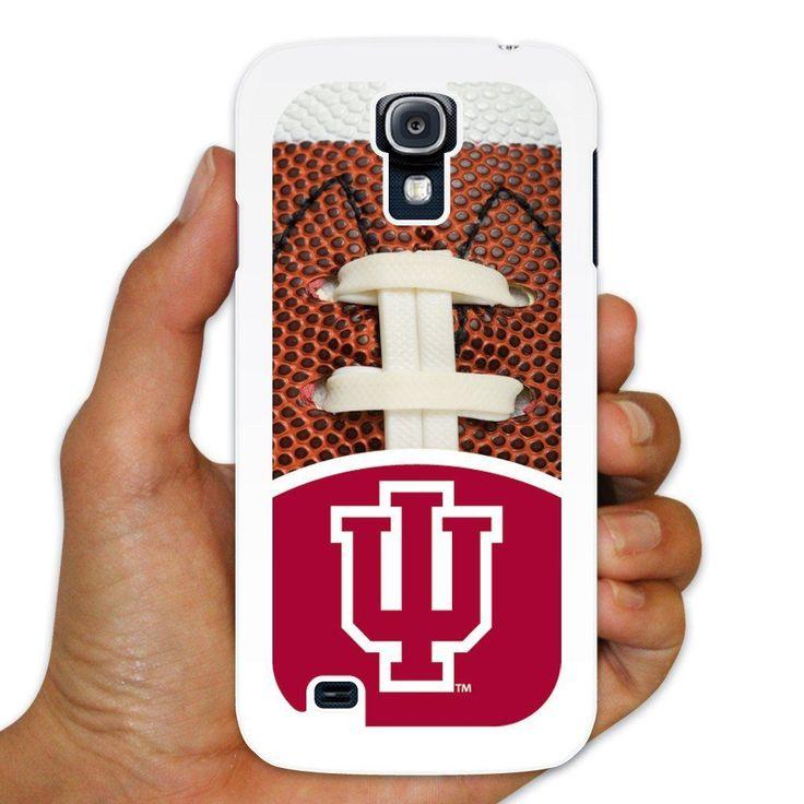 "Samsung Galaxy S4 Case "" Indiana University "" Football Background """