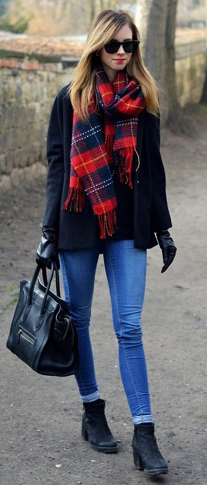 Autumn is creeping up on us... Can't wait to get me tartan scarf back out loving tartan at the moment!!!