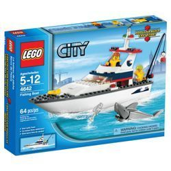 Check out LEGO City Fishing Boat 4642 from Tesco direct
