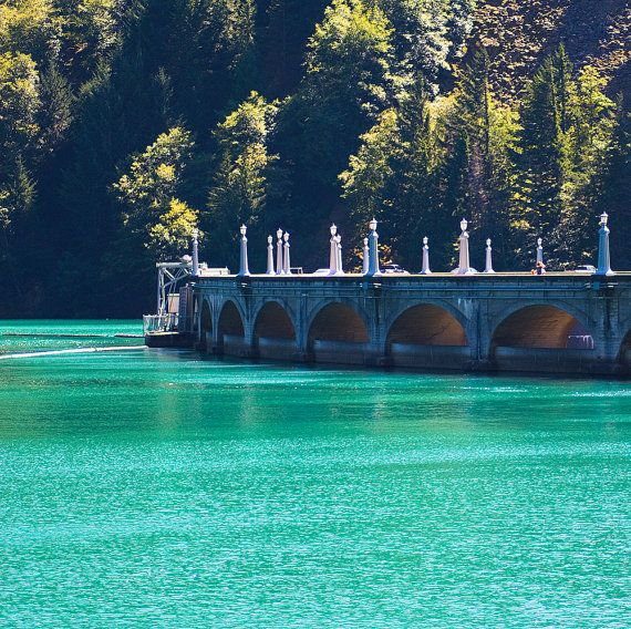 Diablo Dam North Cascades photography print by yuliaphotography, $15.00
