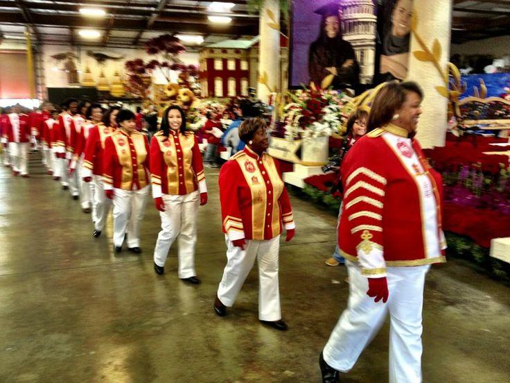 Delta Sigma Theta Sorority makes history at 2013 Rose Parade - Congratulations Sorors!