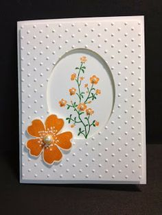 Morning Meadow Stampin' Up! Rubber Stamping Handmade Cards Birthday Card, Thank you card,  Get Well Card, Sympathy Card, Thinking of You card