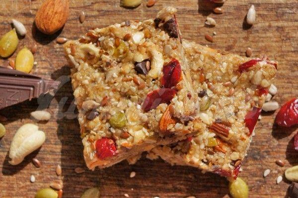 Шоколадно-ореховые питательные батончики или полезные козинаки(protein bars)