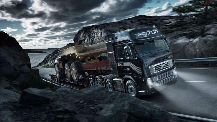 Auto Car Dump Truck Hd Wallpaper Free Download 1920 1080 Volvo Trucks Volvo Trucks