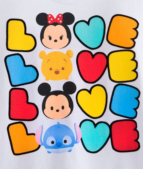 2.14.17- used this image to make Evan a valentine.... Disney Store: Disney Tsum Tsum:)
