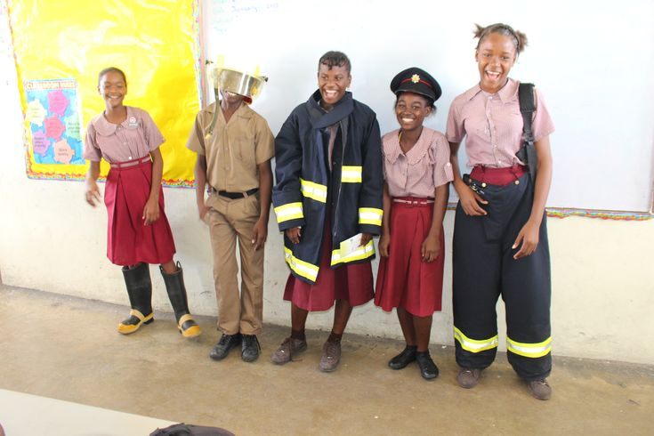 Tiffany Bryan and Assistant Superintendent Howard Thomas of the Jamaica Fire Brigade. An interest in the prevention of hazardous fires and the delivery of related emergency services has been ignited passion for Grade Six Believers club members. Boys Town Infant and Primary School was pleasantly...