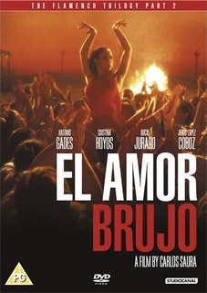 El Amor Brujo, Third Part of Carlos Saura's Flamenco Trilogy, dancing and choreography by Antonio Gades, music by Manuel de Falla